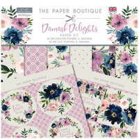 The Paper Boutique - Damask Delights Collection - Paper Kit