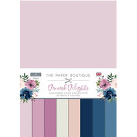 The Paper Boutique - Damask Delights Collection - Colour Card Collection
