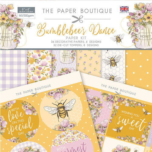 The Paper Boutique - Bumblebee's Dance Collection - Paper Kit