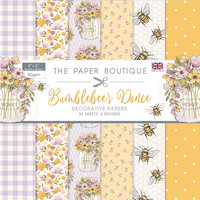 The Paper Boutique - Bumblebee's Dance Collection - 8 x 8 Paper Pad