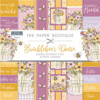 The Paper Boutique - Bumblebee's Dance Collection - 8 x 8 Embellishments Pad