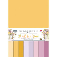The Paper Boutique - Bumblebee's Dance Collection - Colour Card Collection