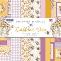 The Paper Boutique - Bumblebee's Dance Collection - 12 x 12 Card Making Pad