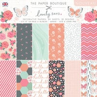 The Paper Boutique - Lovely Days Collection - 12 x 12 Paper Pad