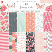 The Paper Boutique - Lovely Days Collection - 8 x 8 Paper Pad