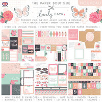 The Paper Boutique - Lovely Days Collection - 8 x 8 Project Pad