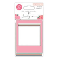 The Paper Boutique - Lovely Days Collection - Photo Frames