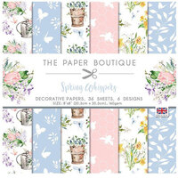The Paper Boutique - Spring Whispers Collection - 8 x 8 Paper Pad