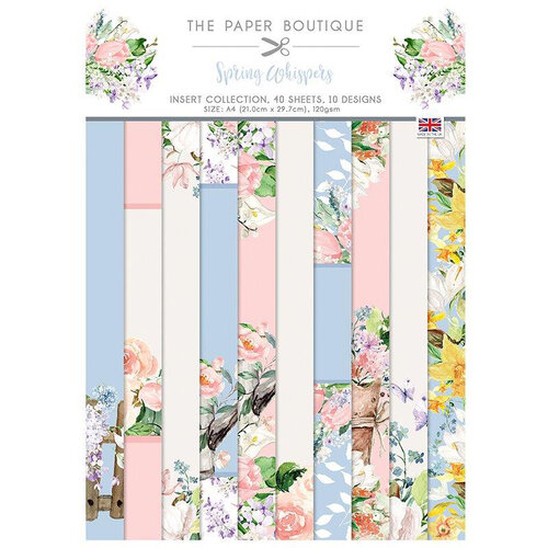 The Paper Boutique - Spring Whispers Collection - Insert Collection