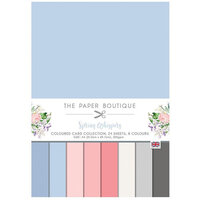 The Paper Boutique - Spring Whispers Collection - Colour Card Collection