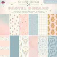 The Paper Boutique - Pastel Dreams Collection - 12 x 12 Paper Pad