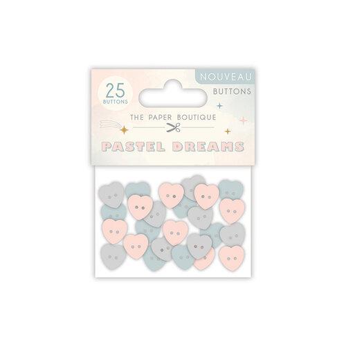 The Paper Boutique - Pastel Dreams Collection - Buttons