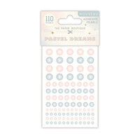 The Paper Boutique - Pastel Dreams Collection - Adhesive Pearls