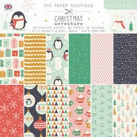 The Paper Boutique - Christmas Adventure Collection - 8 x 8 Paper Pad