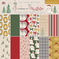 The Paper Boutique - Under The Mistletoe Collection - Christmas - 8 x 8 Paper Pad