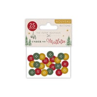 The Paper Boutique - Under The Mistletoe Collection - Christmas - Buttons
