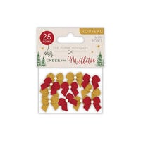 The Paper Boutique - Under The Mistletoe Collection - Christmas - Mini Bows