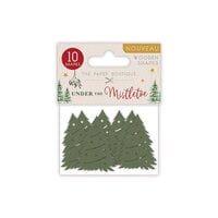 The Paper Boutique - Under The Mistletoe Collection - Christmas - Wooden Shapes
