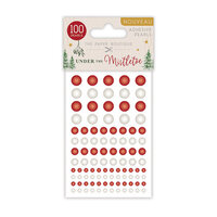 The Paper Boutique - Under The Mistletoe Collection - Christmas - Adhesive Pearls
