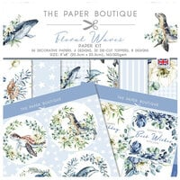 The Paper Boutique - Floral Waves Collection - Paper Kit
