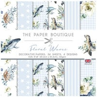 The Paper Boutique - Floral Waves Collection - 8 x 8 Paper Pad
