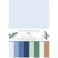 The Paper Boutique - Floral Waves Collection - Colour Card Collection