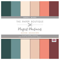 The Paper Boutique - Moon Meadow Collection - 8 x 8 Paper Pad - Perfect Solids