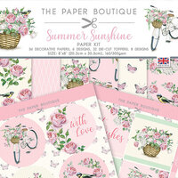 The Paper Boutique - Summer Sunshine Collection - 8 x 8 Paper Kit