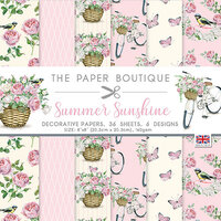 The Paper Boutique - Summer Sunshine Collection - 8 x 8 Paper Pad