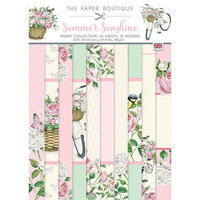 The Paper Boutique - Summer Sunshine Collection - 8.25 x 11.75 Insert Collection