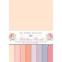 The Paper Boutique - Fabulous Florals Collection - A4 Colour Card Pack