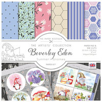 The Paper Boutique - Summer Gnomes Collection - 8 x 8 Paper Kit