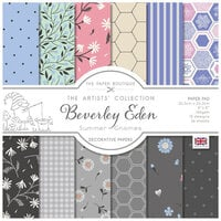 The Paper Boutique - Summer Gnomes Collection - 8 x 8 Paper Pad