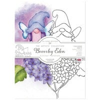 The Paper Boutique - Summer Gnomes Collection - 4.1 x 5.8 Colour Me Toppers