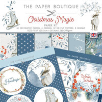 The Paper Boutique - Christmas Magic Collection - 8 x 8 Paper Kit