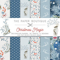 The Paper Boutique - Christmas Magic Collection - 8 x 8 Paper Pad