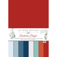 The Paper Boutique - Christmas Magic Collection - A4 Colour Card Pack