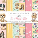The Paper Boutique - It's A Puppy's Life Collection - 8 x 8 Paper Pad