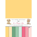 The Paper Boutique - It's A Puppy's Life Collection - 8.25 x 11.75 Colour Card Collection