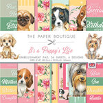 The Paper Boutique - It's A Puppy's Life Collection - 8 x 8 Embellishments Pad