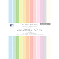 The Paper Boutique - Everyday Collection - A4 Colour Card Pack - Pastels