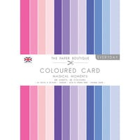 The Paper Boutique - Everyday Collection - A4 Colour Card Pack - Magical Moments