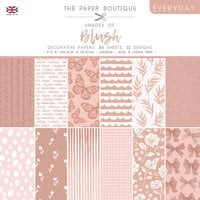 The Paper Boutique - Everyday Collection - 8 x 8 Paper Pad - Shades Of Blush