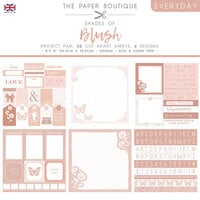 The Paper Boutique - Everyday Collection - 8 x 8 Project Pad - Shades Of Blush