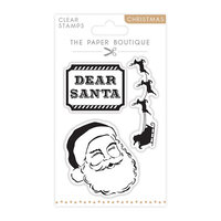 The Paper Boutique - Christmas Collection - Clear Photopolymer Stamps - Santa Claus