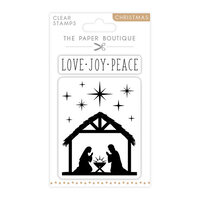 The Paper Boutique - Christmas Collection - Clear Photopolymer Stamps - Nativity