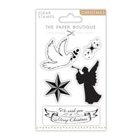 The Paper Boutique - Christmas Collection - Clear Photopolymer Stamps - Angels