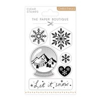 The Paper Boutique - Christmas Collection - Clear Photopolymer Stamps - Let it Snow