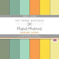 The Paper Boutique - Dancing Daisies Collection - 8 x 8 Colour Card Pack