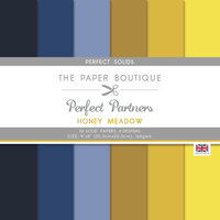 The Paper Boutique - Honey Meadow Collection - 8 x 8 Colour Card Pack